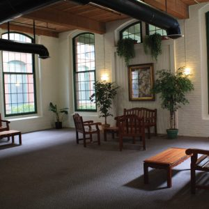 Ribbon Mill Apartments Lobby