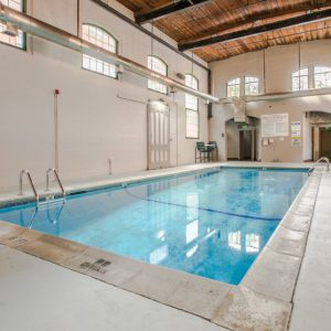Ribbon Mill Apartments indoor pool